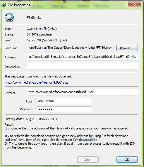 Mengatasi Cannot Resume Download Pada IDM